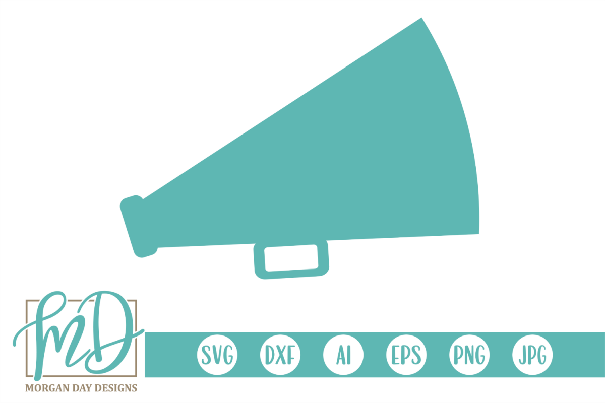 cheer megaphone svg #1025, Download drawings
