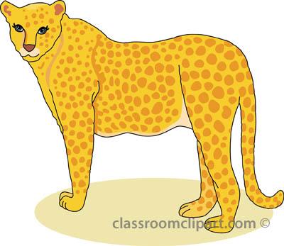 Cheetah clipart #1, Download drawings