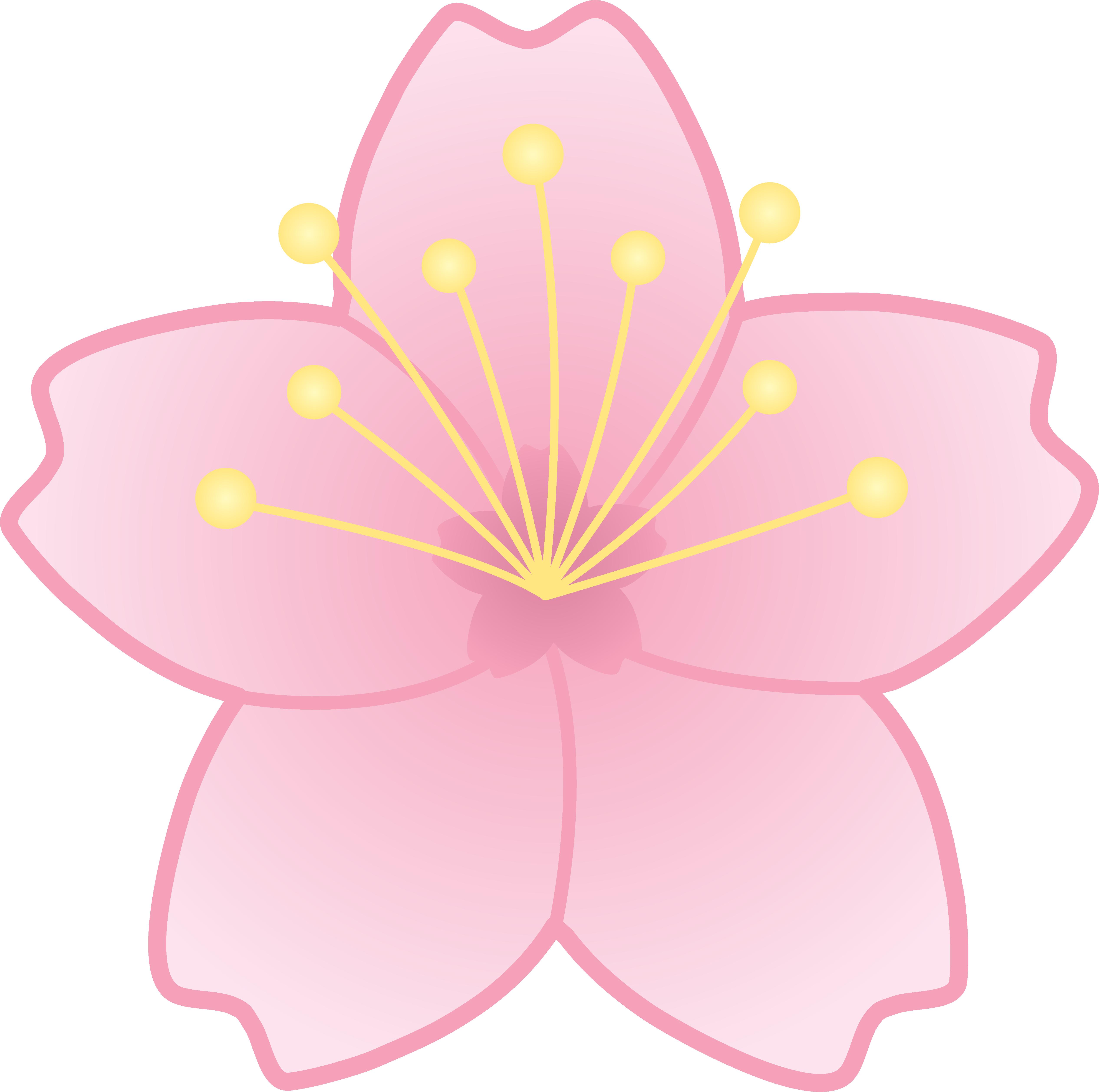 Sakura Blossom clipart #2, Download drawings
