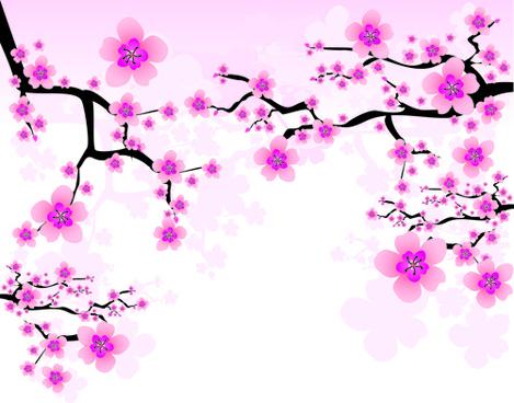 Sakura Blossom svg #3, Download drawings