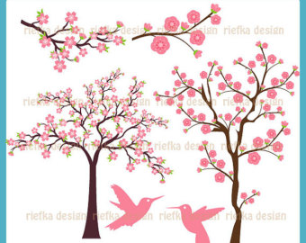 Cherry Tree clipart #1, Download drawings