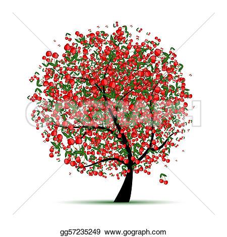 Cherry Tree clipart #5, Download drawings