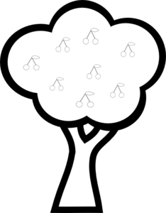 Cherry Tree clipart #10, Download drawings