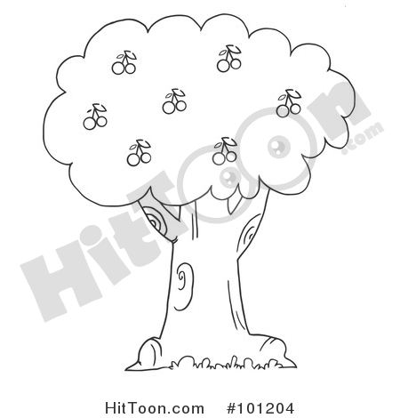 Cherry Tree clipart #2, Download drawings