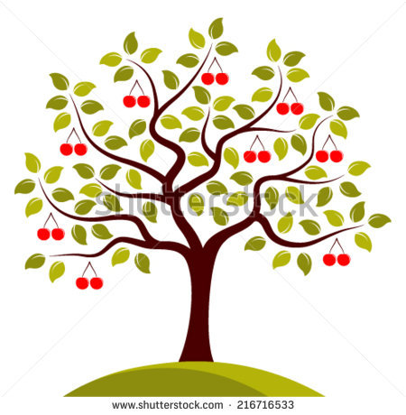 Cherry Tree clipart #3, Download drawings