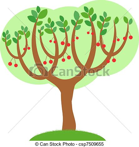 Cherry Tree clipart #4, Download drawings
