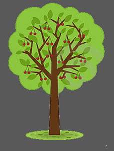Cherry Tree clipart #13, Download drawings