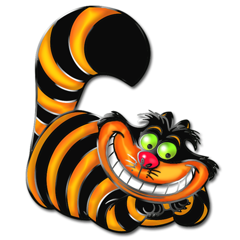 Cheshire Cat clipart #11, Download drawings