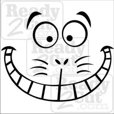 Cheshire Cat svg #2, Download drawings