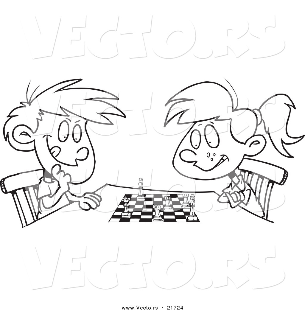 Chess coloring #3, Download drawings