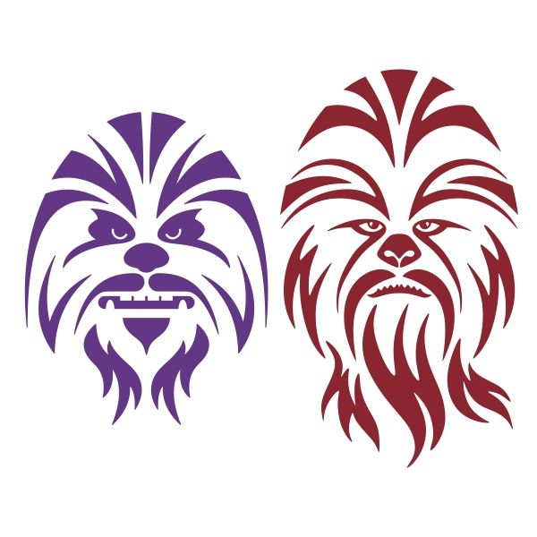 chewbacca svg #1058, Download drawings