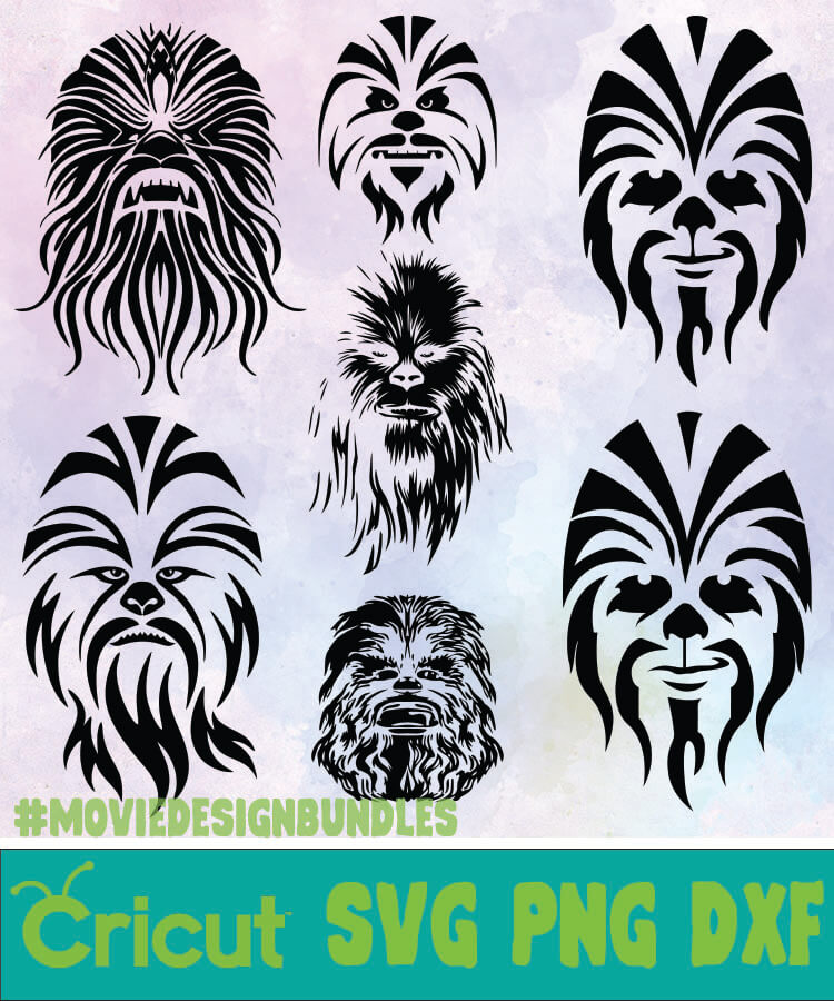 chewbacca svg #1048, Download drawings