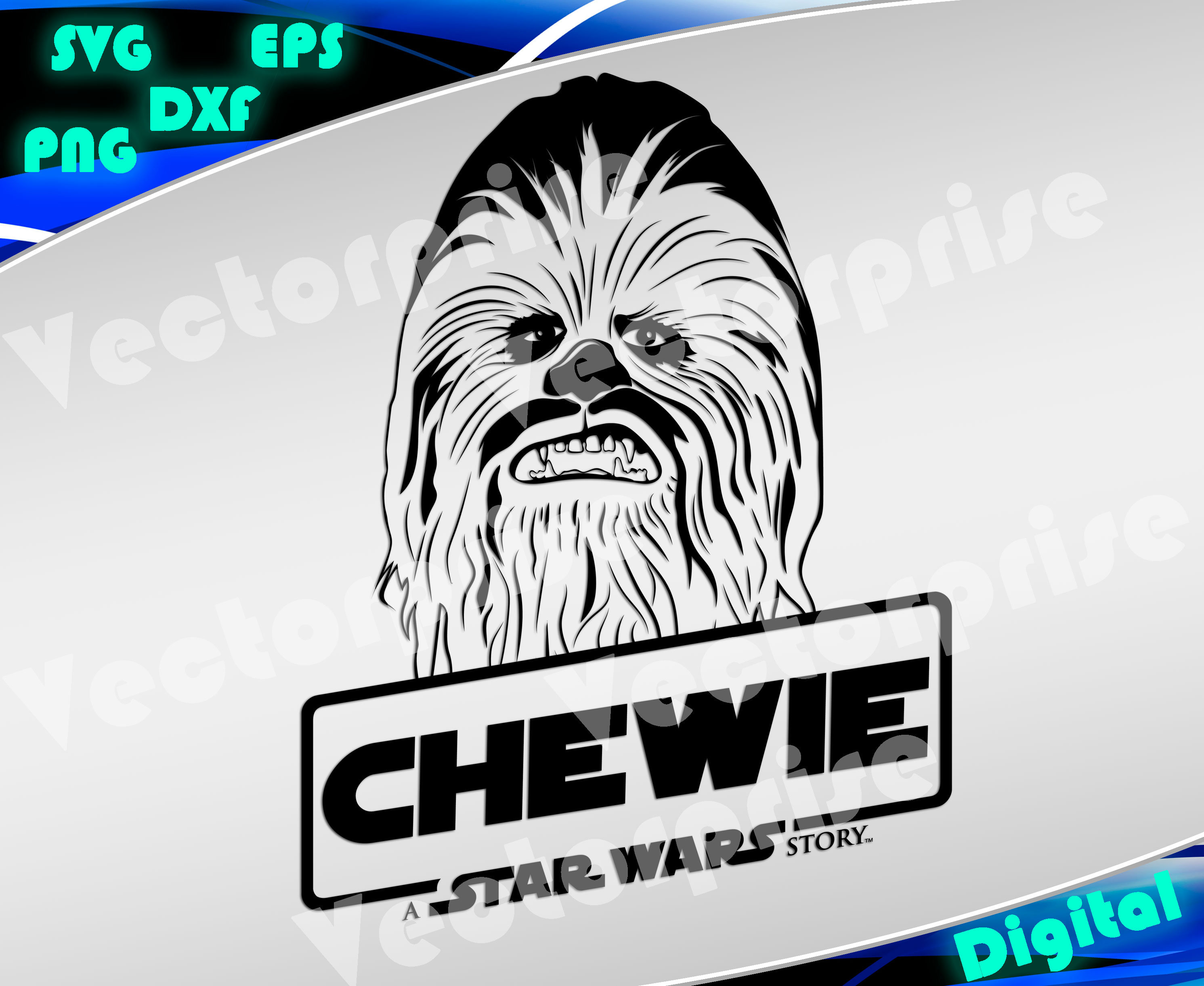 chewbacca svg #1049, Download drawings