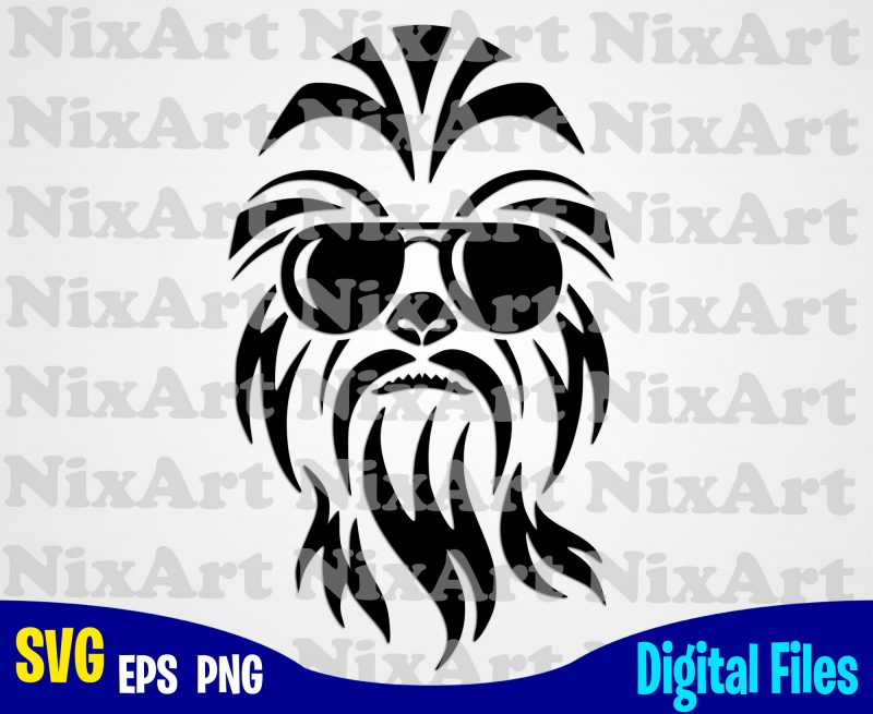 chewbacca svg #1053, Download drawings