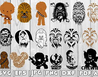 chewbacca svg #1050, Download drawings