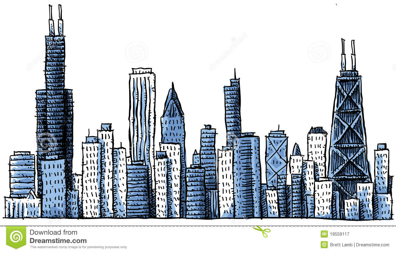 Chicago clipart #5, Download drawings