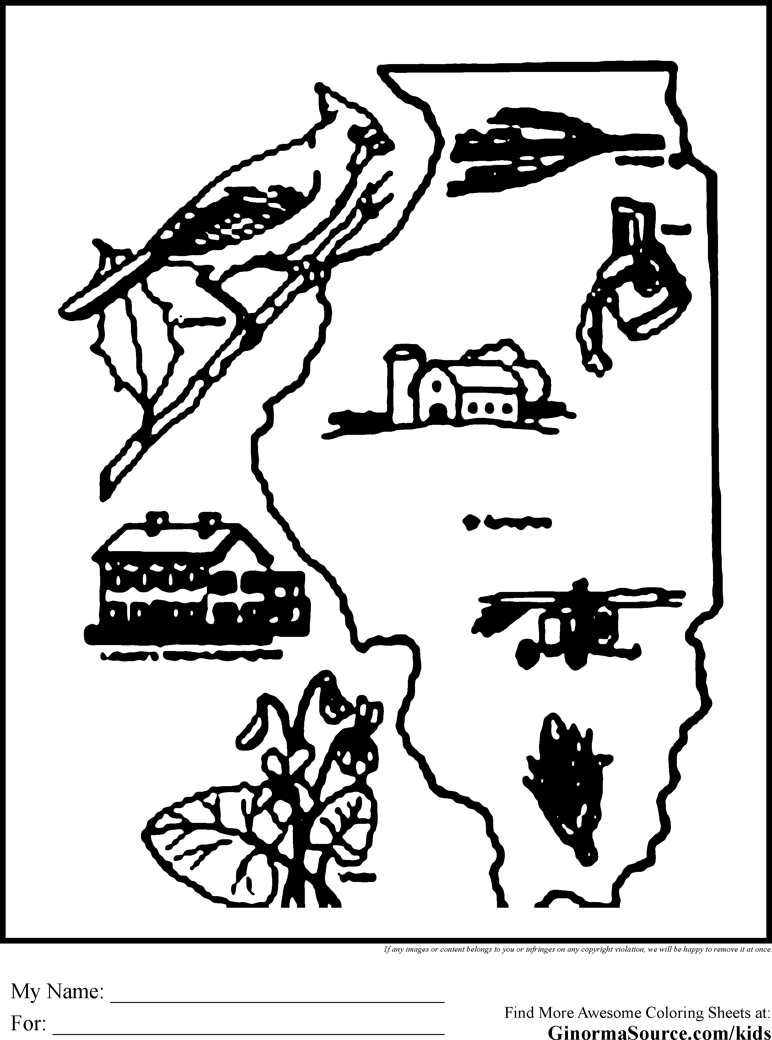 Chicago coloring #7, Download drawings