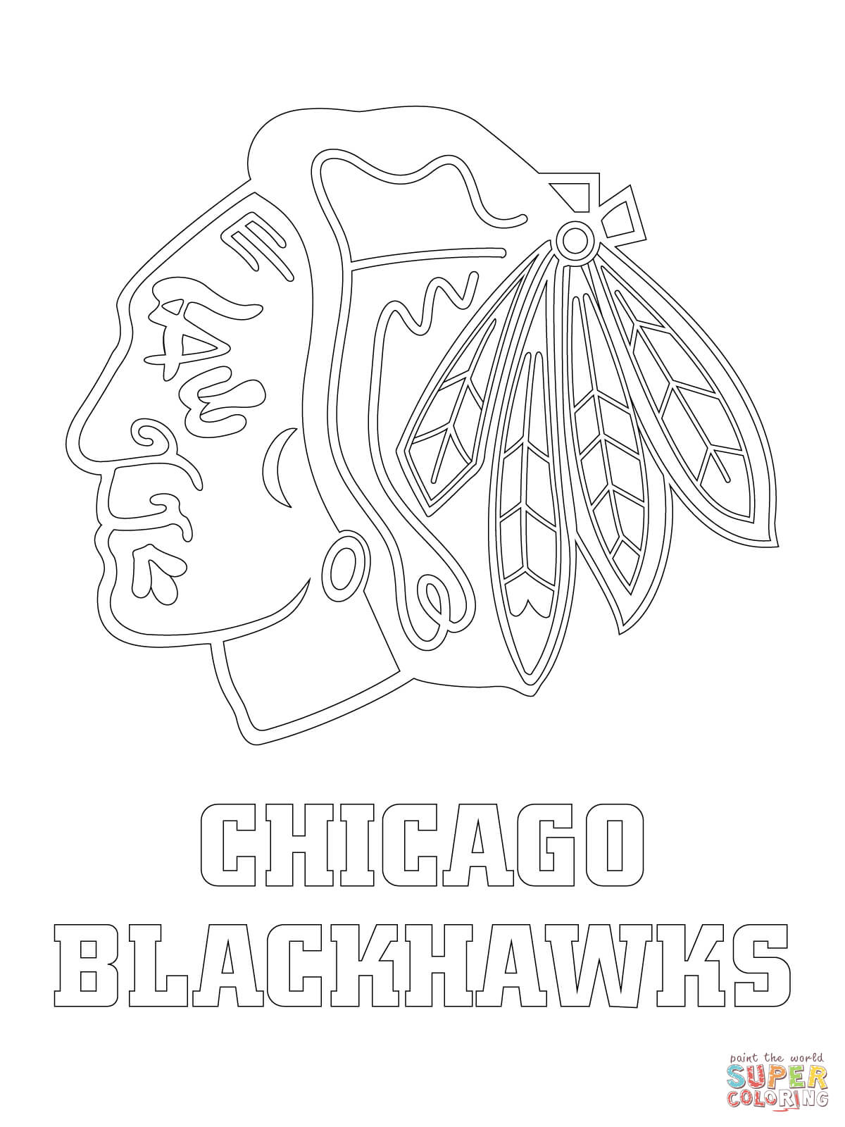Chicago coloring #3, Download drawings