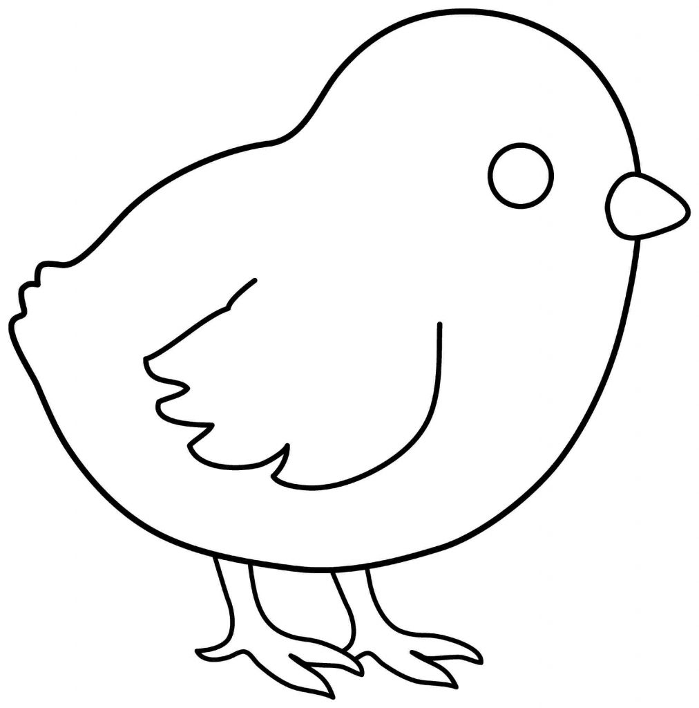 Chick coloring #6, Download drawings
