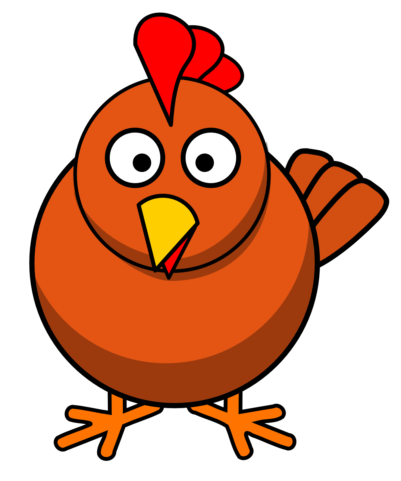 Chicken clipart #10, Download drawings
