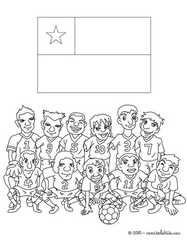 Chile coloring #3, Download drawings
