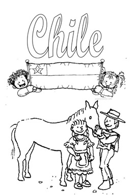 Chile coloring #16, Download drawings