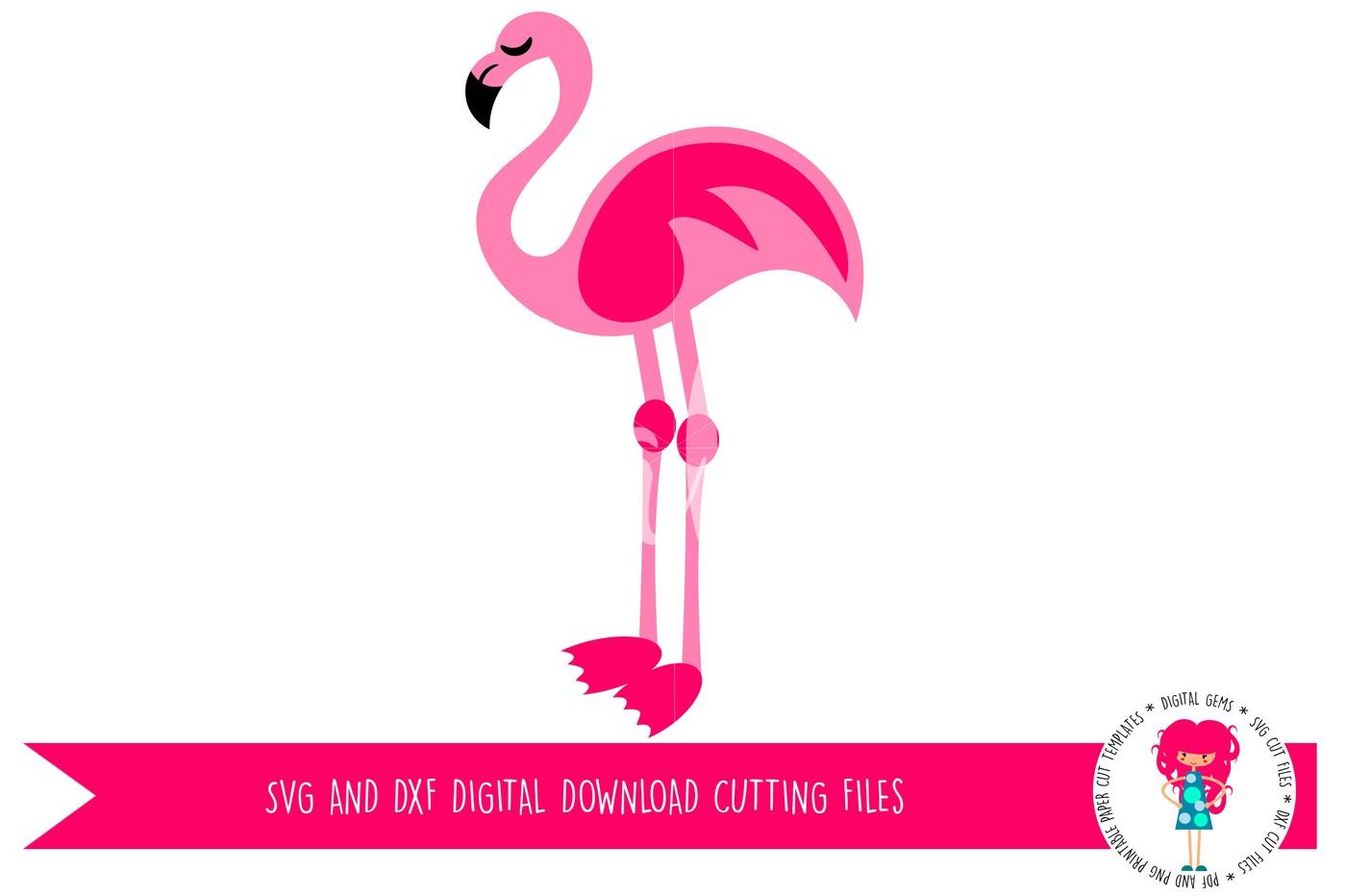 Flamingo svg #5, Download drawings
