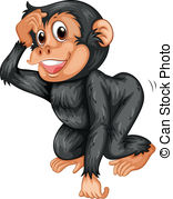 Chimpanzee clipart #11, Download drawings