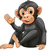 Chimpanzee clipart #13, Download drawings