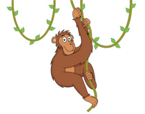 Chimpanzee clipart #9, Download drawings