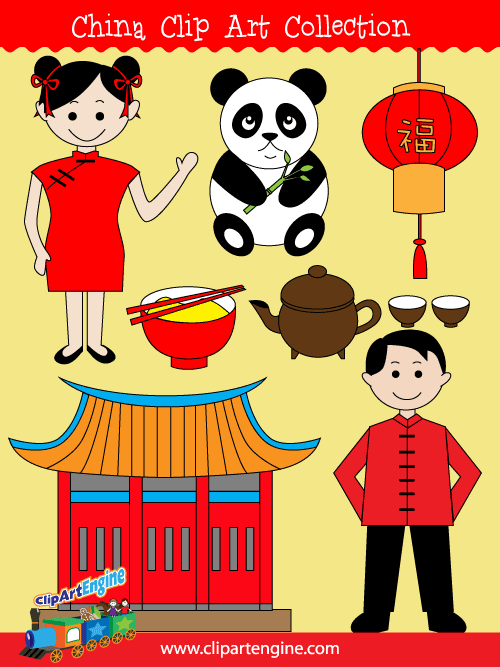 China clipart #4, Download drawings