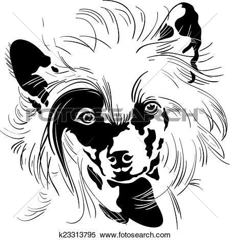 Chinese Crested Dog clipart #18, Download drawings