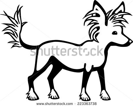 Chinese Crested Dog clipart #17, Download drawings