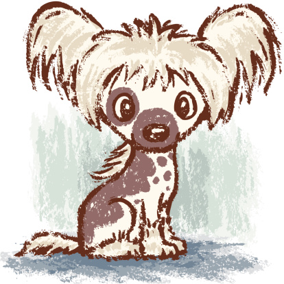 Chinese Crested Dog clipart #19, Download drawings