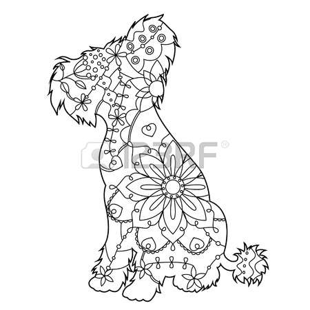 Chinese Crested Dog coloring #19, Download drawings