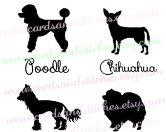 Chinese Crested Dog svg #16, Download drawings