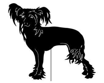 Chinese Crested Dog svg #2, Download drawings