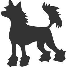 Chinese Crested Dog svg #11, Download drawings