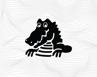 Crocodile Monitor svg #17, Download drawings