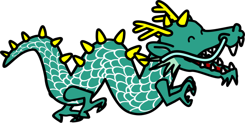 Chinese Dragon svg #1, Download drawings