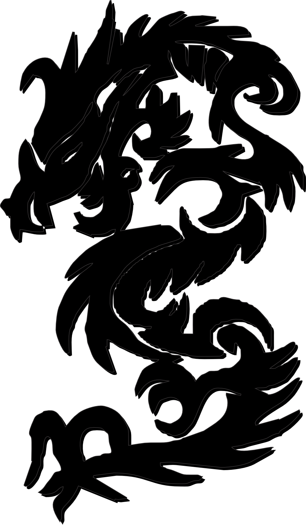Chinese Dragon svg #6, Download drawings