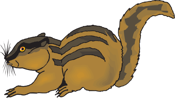 Chipmunk clipart #3, Download drawings