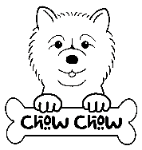 Chow Chow coloring #5, Download drawings