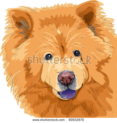 Chow Chow svg #10, Download drawings