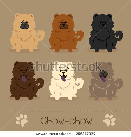 Chow Chow svg #14, Download drawings