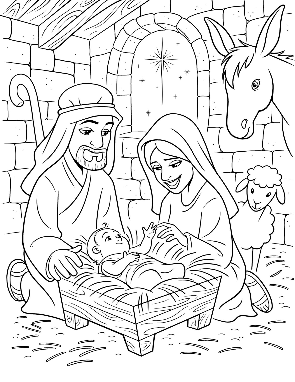Christ coloring #2, Download drawings