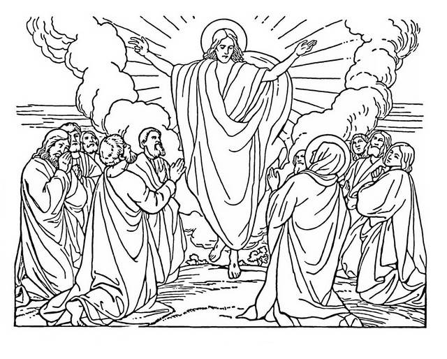 Christ coloring #17, Download drawings