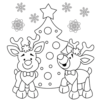 Christmas coloring #10, Download drawings