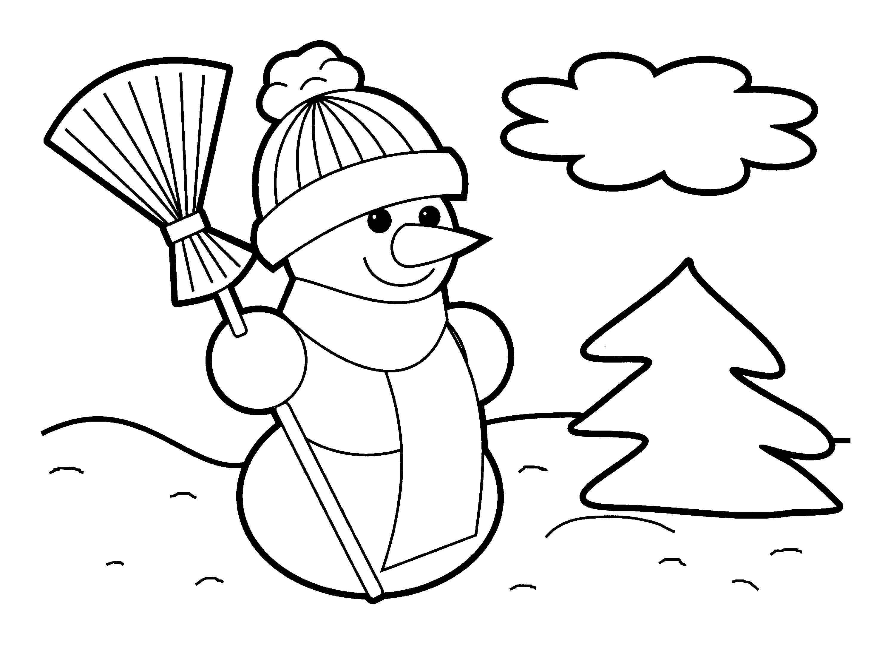 Christmas coloring #3, Download drawings