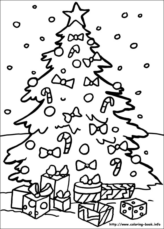 Christmas coloring #7, Download drawings